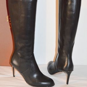 Brand new Coach Remi black tall boots